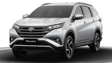 Le tout nouveau SUV Toyota Rush est là!