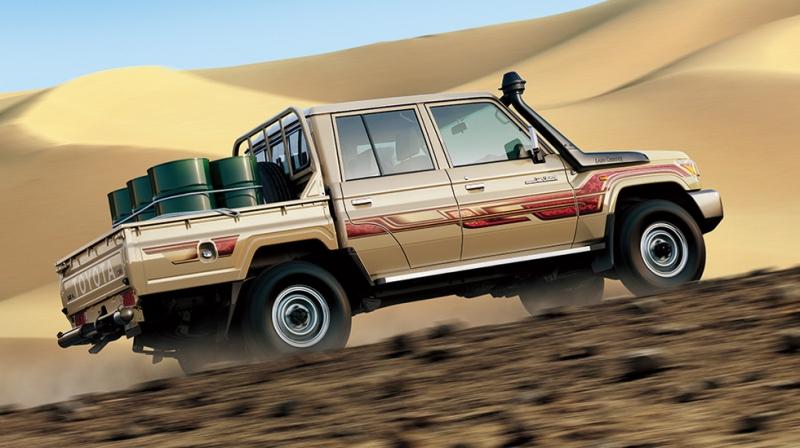 Toyota Land Cruiser 70 Series L'empereur des tout-terrain